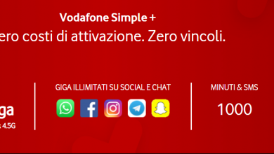 Vodafone Simple Plus