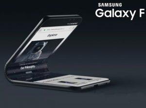 Una batteria pieghevole per Samsung Galaxy F