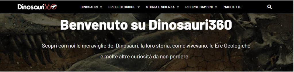 dinosauri360 sito dinosauri